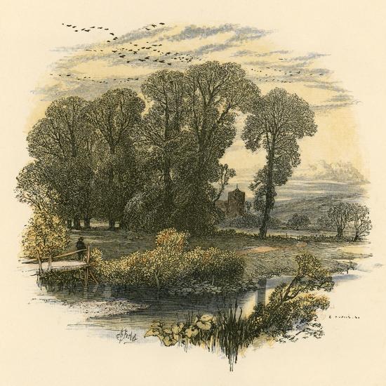 Sabbath Bells-Miles Birkett Foster-Giclee Print