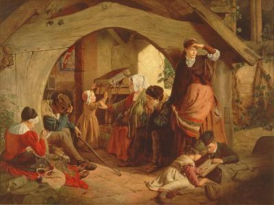 Sabbath Evening-James Drummond-Giclee Print