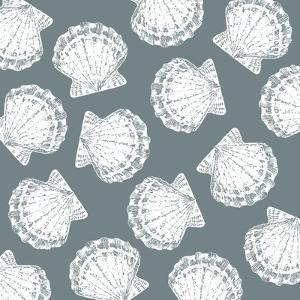 Scattered Shells II by Sabine Berg