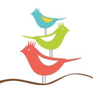 Songbirds III by Sabine Berg