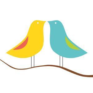 Songbirds IV by Sabine Berg