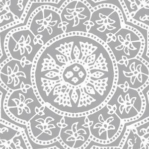 Woodblock Pattern I by Sabine Berg