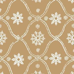 Woodblock Pattern III by Sabine Berg