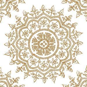 Woodblock Pattern IV by Sabine Berg
