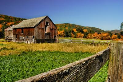 Old Barn in Kent, Connecticut, Usa