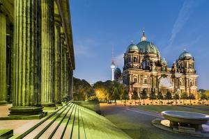 Altes Museum and Berlin Dom, Berlin, Germany Germany by Sabine Lubenow