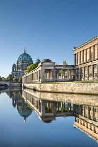 Berlin Dom, Alte Nationalgalerie and Spree River, Berlin, Germany by Sabine Lubenow