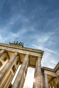 Brandenburg Gate, Berlin, Germany by Sabine Lubenow