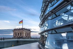 Dome, Reichstag, Berlin, Germany by Sabine Lubenow