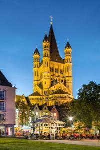 Fischmarkt, Old Town, Cologne, North Rhine Westphalia, Germany by Sabine Lubenow