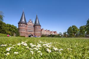 Holstentor, Lübeck, Baltic coast, Schleswig-Holstein, Germany by Sabine Lubenow