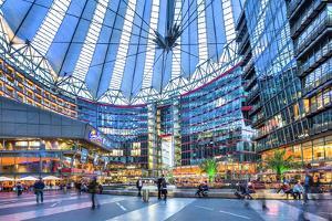 Interior, Potsdamer Platz, Berlin, Germany by Sabine Lubenow