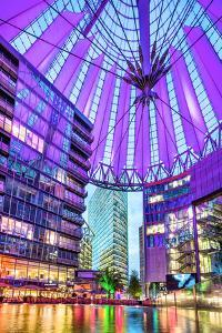 Interior, Potsdamer Platz, Berlin, Germany by Sabine Lubenow