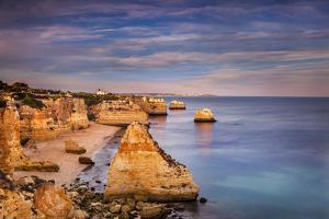 Praia Da Marinha, Algarve, Portugal by Sabine Lubenow