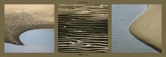 Sable et Eau-Laurent Pinsard-Art Print