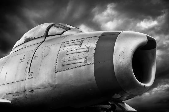 Sabre Storm-David Bracher-Photographic Print
