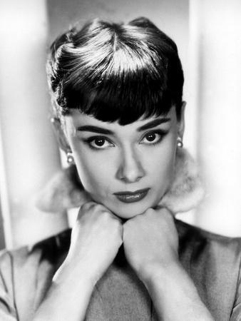 Sabrina, Audrey Hepburn, Directed by Billy Wilder, 1954--Photo