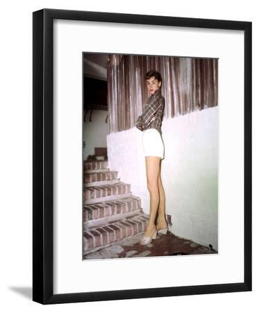 Sabrina, Audrey Hepburn, Directed by Billy Wilder, 1954