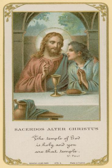 Sacerdos Alter Christus--Giclee Print