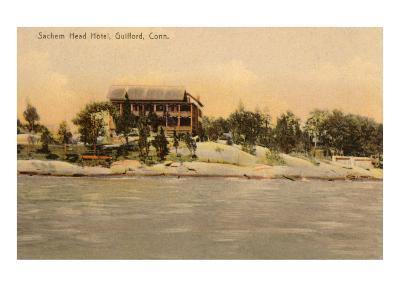 Sachem Head Hotel, Guilford, Connecticut--Art Print