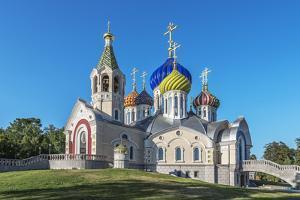 Church of the Holy Igor Chernigov Novo-Peredelkino. by Sachkov