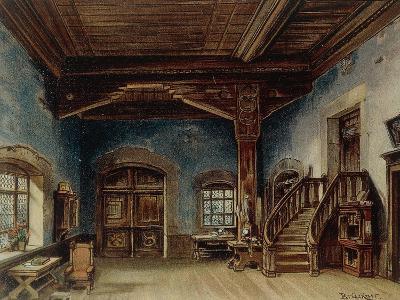 Sachs' Workshop, Scene 1 from 'Die Meistersinger', 1888--Giclee Print