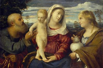 Sacra Conversazione, 16th Century-Jacopo Palma-Giclee Print