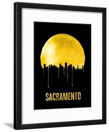 Sacramento Skyline Yellow