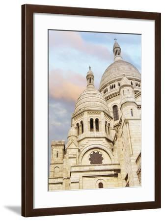 Sacre-Coeur At Sunset-Cora Niele-Framed Giclee Print