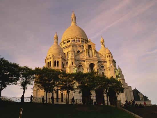 Sacre Coeur, Montmartre, Paris, France, Europe-David Hughes-Photographic Print