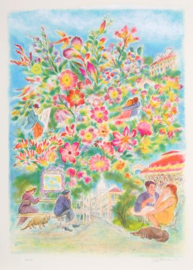 Sacre Couer-Ira Moskowitz-Collectable Print