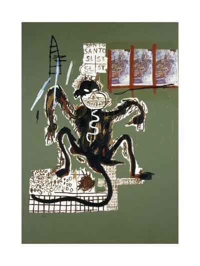 Sacred Ape-Jean-Michel Basquiat-Giclee Print