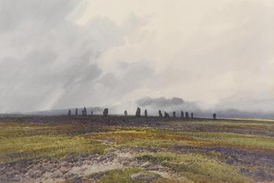 Sacred Circle, Mis Tor, Langstone Moor, Dartmoor , C.1895-96-Frederick John Widgery-Giclee Print