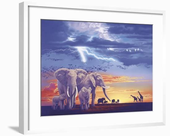 Sacred Family-Joh Naito-Framed Giclee Print