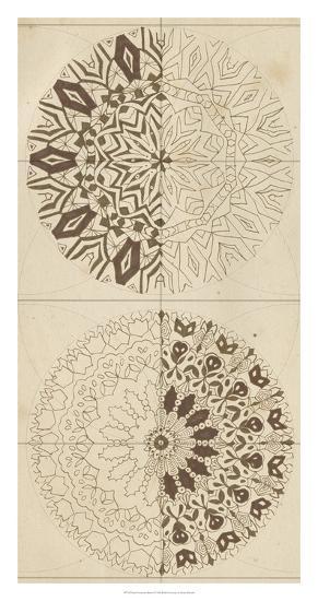Sacred Geometry Sketch I-Naomi McCavitt-Giclee Print