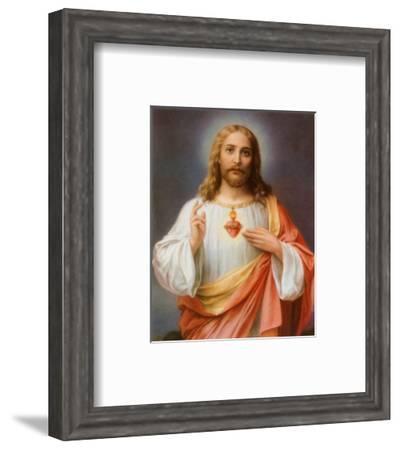 Sacred Heart of Jesus--Framed Art Print