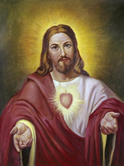 Sacred Heart of Jesus-Vittorio Bianchini-Giclee Print
