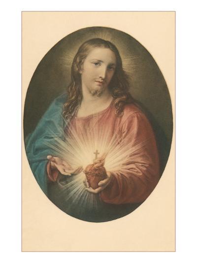 Sacred Heart of Jesus--Art Print