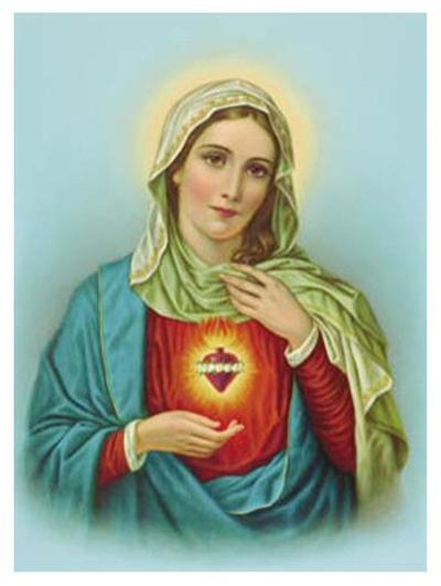 Sacred Heart of Mary--Art Print