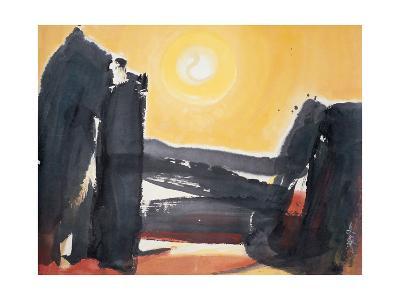 Sacred Light-Chi Wen-Giclee Print