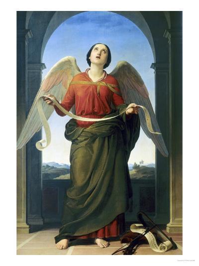 Sacred Music, Accademia Gallery, Florence-Luigi Mussini-Giclee Print