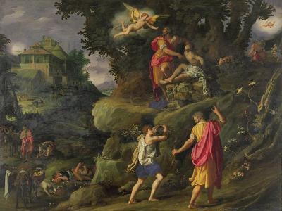 Sacrifice of Isaac, 1601-Alessandro Allori-Giclee Print