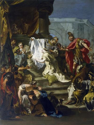 Sacrifice of Jephthah's Daughter-Giovanni Battista Riccardi-Giclee Print