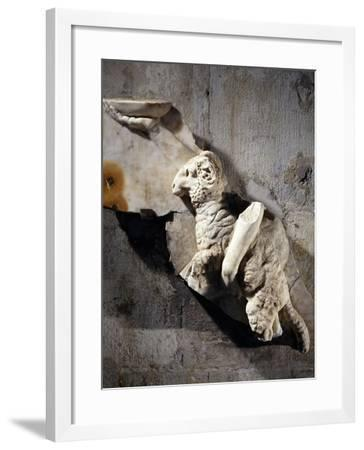 Sacrifice of Ram Relief Related to Cult of Cybele--Framed Giclee Print