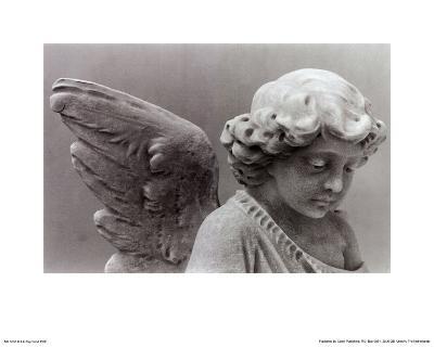 Sad Little Angel-Lilo Raymond-Art Print