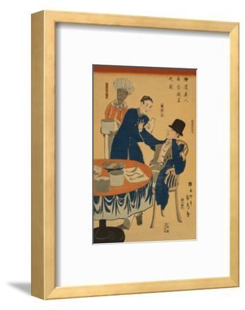 Banquet at a Foreign Mercantile House in Yokohama (Yokohama Ijin Sho?Ka Shuen No Zu)