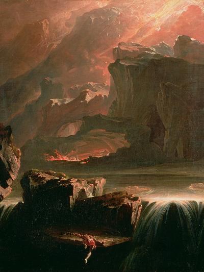Sadak in Search of the Waters of Oblivion, 1812-John Martin-Giclee Print