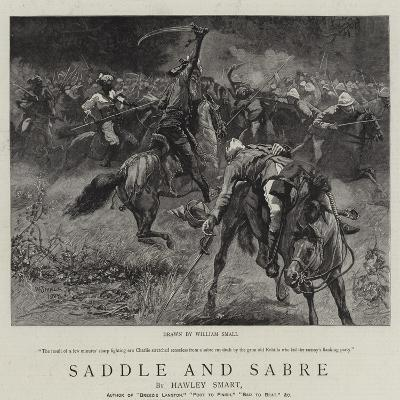Saddle and Sabre-William Small-Giclee Print