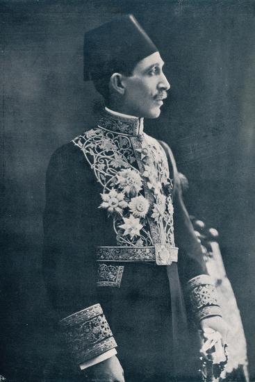 Sadek Wahba Pasha, Egyptian diplomat, c1933-Unknown-Photographic Print