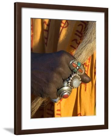 Sadhu Rests with Ringed Hand, Kathmandu, Nepal-Philip Kramer-Framed Photographic Print